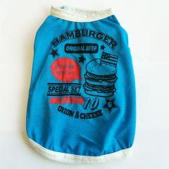 Dog Clothes |Hamburger Blue
