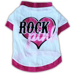 Dog Clothes | Rock Pink | T-shirt for Dogs