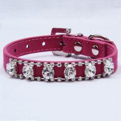 Pink Dog Collar  Timangi Dimangi Pink