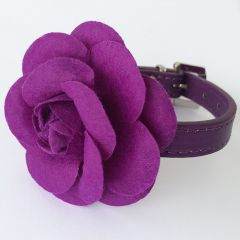 Collar for dogs and cats | Rose Decorated Collar