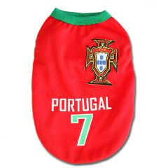 Dog jersey Portugal  | Top item for the stadium and matches!