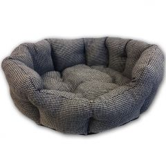 Pet Bed Dog Bed Colore Griglio | Elegant Gray-Colored Bed for your Dog or Cat