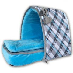 Dog Bed | Cat Bed | Blue Pet's Den | Bed for Dogs or Cats | 2 Sizes