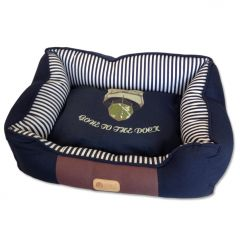 Dog Bed |Dogs of Caribbean Dream Bed for Dogs |Ocean Themed Bed for Dogs
