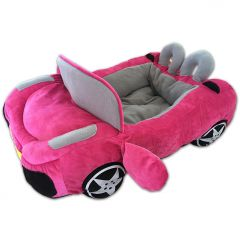Dog Bed Tour Pink Antibes | Lovely Plush Bed for Your Little Dog or Cat