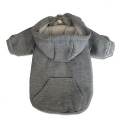 Dog Clothes |Dog Hoodie | Basic Hoodie Gray |Hoodie For Dogs