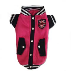 Dog Clothes | Pink Basketball Jacket | Jacket for Dogs