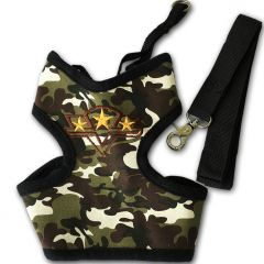 Dog Harness | Camo Star Go! | Camo Patterned Harness for Dogs