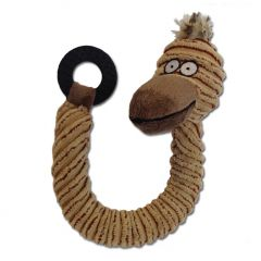 Dog Toy | Curly Duck | Squeaky Toy | Easy to Carry