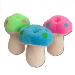Dog Toy | Mushroom | Squeaky Toy | Three Colors!