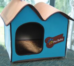 Dog Bed | Cat Bed | Villa Dog Blue Avantgarde