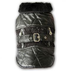 Dog Quilted Jacket | Rock Star