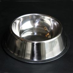 Food Bowl | Malaga Silver | Stainless Steel