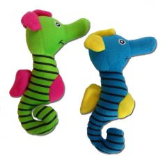 Dog Toy | Sea Horse | Squeaky Toy | Two Colors Green and Blue