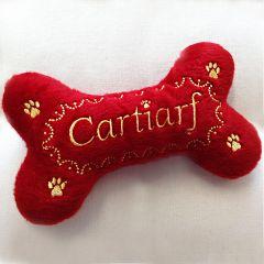 Koiran Lelu | Pehmolelu koiralle | Cartiarf Bone | Vinku sisällä