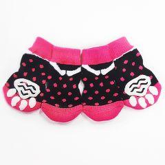 Dog Socks |Anti-Slip Socks |Pink Spot