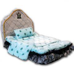 Dog Bed | Royal Pink Crown | Small Dog Supplies DiivaDog