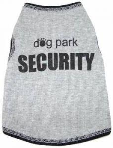 Dog Tank Top |Dog Park Security
