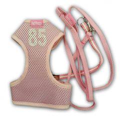 Dog Harness | Mesh 85 Pink | Harness & Leash