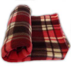 Dog Nap Blanket |MurrBerry Rose |Fleece Blanket for Dogs
